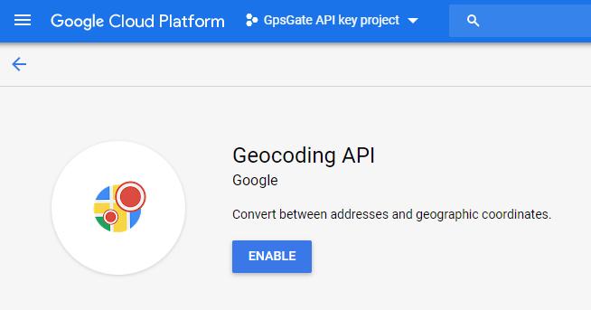Generate a Google Geocoder API key to use with GpsGate – GpsGate Support